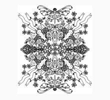 Dragonflies & Fox Skulls Unisex T-Shirt
