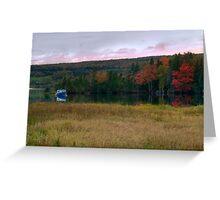 Fall on Baddeck Bay Greeting Card