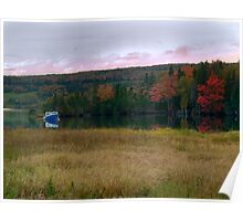 Fall on Baddeck Bay Poster