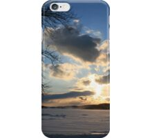Sunset in Snow iPhone Case/Skin