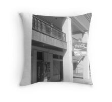 Serios Grocery - Brookhaven, MS Throw Pillow