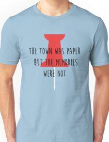 Paper Towns shirt – Pin, Cover Art, John Green Unisex T-Shirt