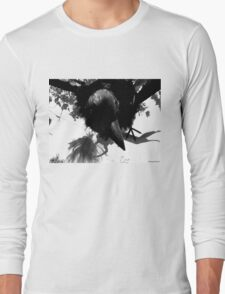 Barbie Attacked by Giant Monsterbird Long Sleeve T-Shirt