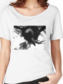 Barbie Attacked by Giant Monsterbird Women's Relaxed Fit T-Shirt