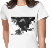 Barbie Attacked by Giant Monsterbird Womens Fitted T-Shirt