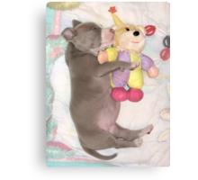 I Love My Stuffy Canvas Print
