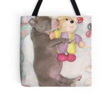 I Love My Stuffy Tote Bag