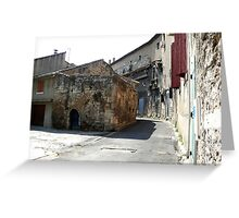 St Remy Greeting Card