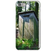 The Outhouse iPhone Case/Skin