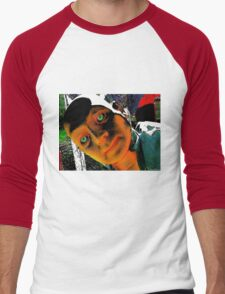 Hugo, Man of a Thousand Faces Hits the Acid Men's Baseball ¾ T-Shirt