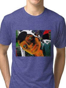 Hugo, Man of a Thousand Faces Hits the Acid Tri-blend T-Shirt