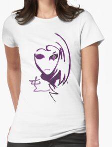 ANIME CHAOS ORIGINAL minimal Womens Fitted T-Shirt