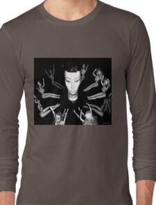 Mandy the Giant Head and her Minions Long Sleeve T-Shirt