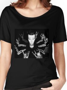 Mandy the Giant Head and her Minions Women's Relaxed Fit T-Shirt