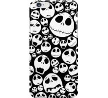 Halloween Ghost emoticon face pattern iPhone Case/Skin