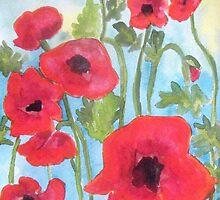 Poppies VII by Alexandra Felgate