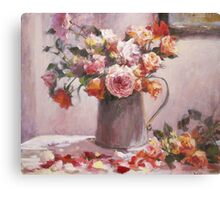 wild rose...end of summer Canvas Print