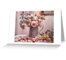 wild rose...end of summer Greeting Card