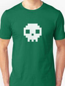 Pixel Skull T Shirt Unisex T-Shirt