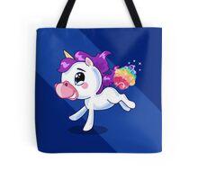 Rainbow Unicorn Farts Tote Bag