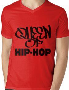 Queen Of Hip-Hop Mens V-Neck T-Shirt