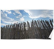 Fence & Sky Poster