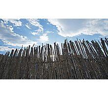 Fence & Sky Photographic Print