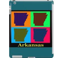 Colorful Arkansas State Pop Art Map iPad Case/Skin