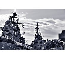 Naval Park And Museum Photographic Print