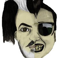 The Many Faces of Dave Vanian by mollytherocker