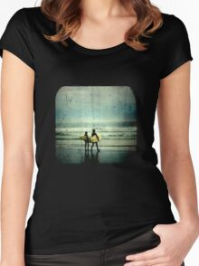 Surfer Dudes - TTV Women's Fitted Scoop T-Shirt