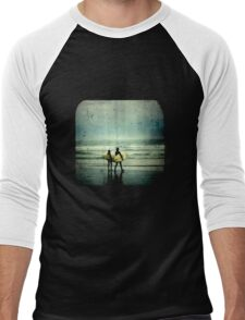 Surfer Dudes - TTV Men's Baseball ¾ T-Shirt