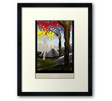 Autumn Grace Framed Print