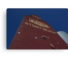Stony Beach Elevator Canvas Print