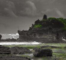 Tanah Lot Temple Bali by Trevor Murphy