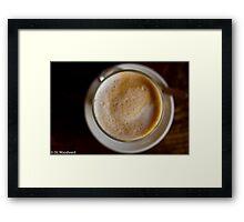 Cafe Break Framed Print