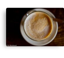 Cafe Break Canvas Print