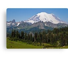 Mt. Rainier from Chinook Pass Canvas Print
