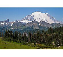 Mt. Rainier from Chinook Pass Photographic Print