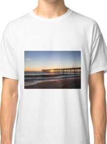Virginia Beach Fishing Pier Morning Classic T-Shirt