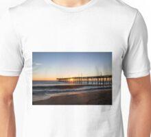 Virginia Beach Fishing Pier Morning Unisex T-Shirt