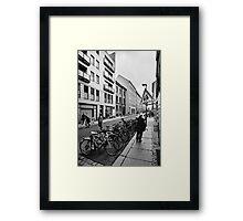 Gipsstraße Framed Print