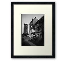 Scharrenstraße Framed Print
