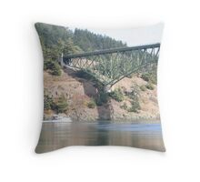 """Deception Pass"" Throw Pillow"