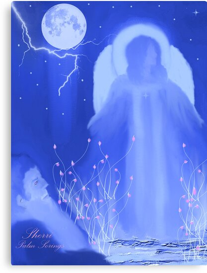 EARTH ANGEL.........got to watch the cute video dedicated to the artist of red bubble by Sherri     Nicholas
