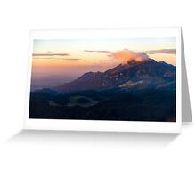 Feichteck with clouds Greeting Card