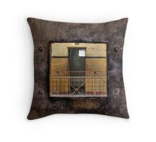 Through The Cell Door Throw Pillow
