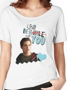 Season 5 Teen Wolf Greeting Cards [Liam] Women's Relaxed Fit T-Shirt