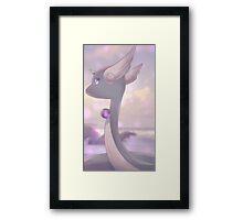 Hakuryu | ハクリュー | Dragonair Framed Print