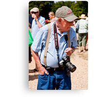 New Canon EOS 5D User Canvas Print